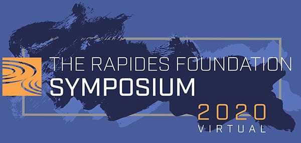 The Rapides Foundation's seventh annual Symposium will be held Tuesday, Sept.1from 3-4:30 p.m. and will be presented in a virtual format for the first time.