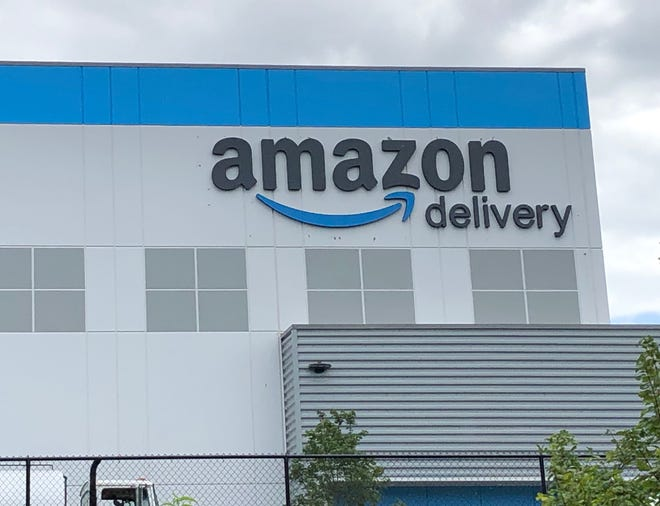 Amazon opened its $28 million, 110,000-square-foot distribution hub in Mills River on Sept. 23, 2020. The total project site is about 27 acres, and the operation will employ 200 people.