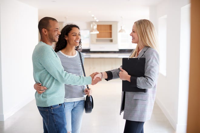 Consider using a lawyer when buying or selling a home. [