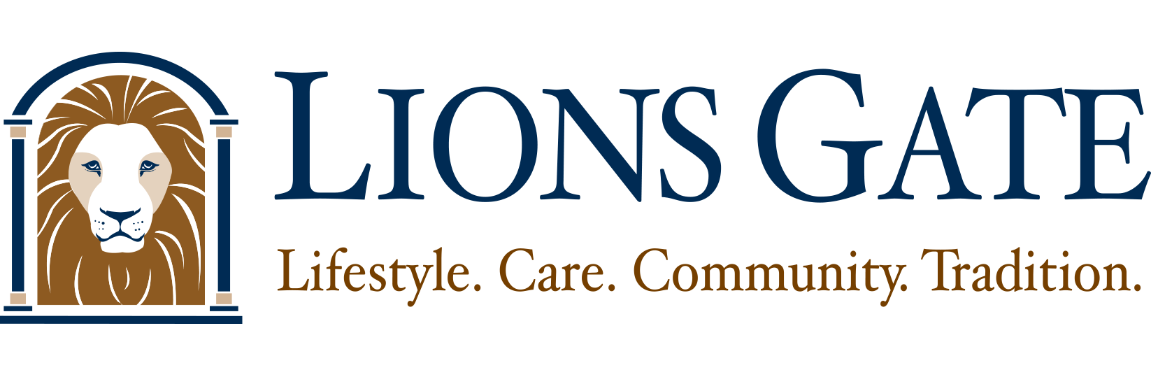 Lions Gate Continuing Care Logo