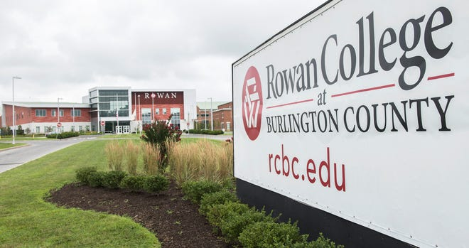 Exterior of Rowan College at Burlington County in Mount Laurel.