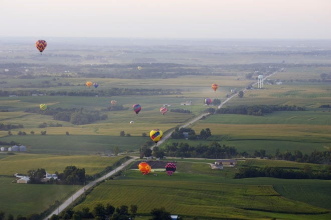The National Balloon Classic, held in Indianola every year, is a powerful economic generator in the county.