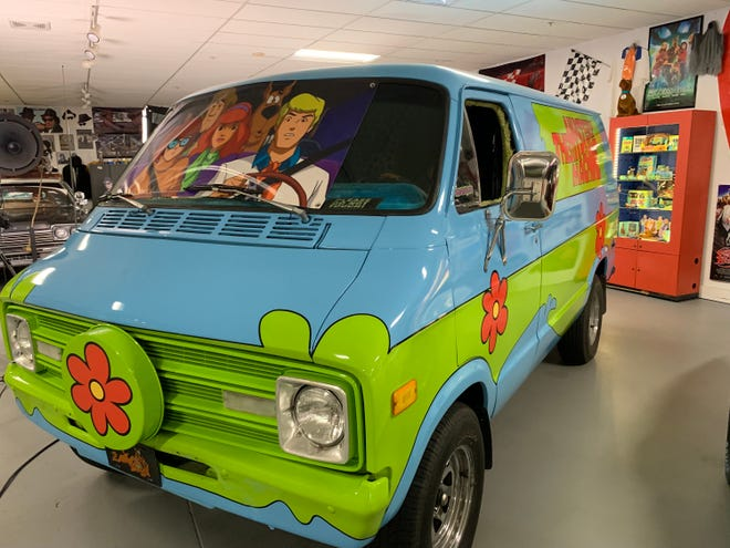 Mel Gutherie and Michael Knight have been scouring America for classic cars and auto memorabilia for years. This is the famous Scooby Doo Mystery Machine which is a part of their collection.