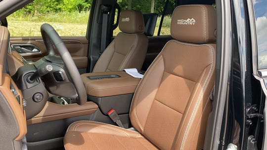 Interior Chevrolet Tahoe High Country 2021