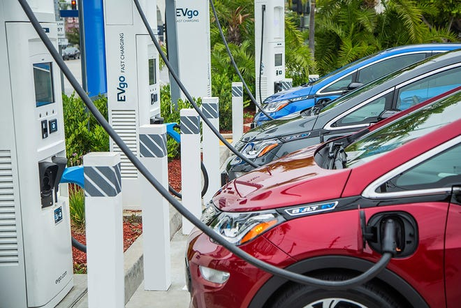 GM is partnering with EVgo, the largest public fast charging network for electric vehicles, to triple the size of the U.S. public fast charging network in the next five years.
