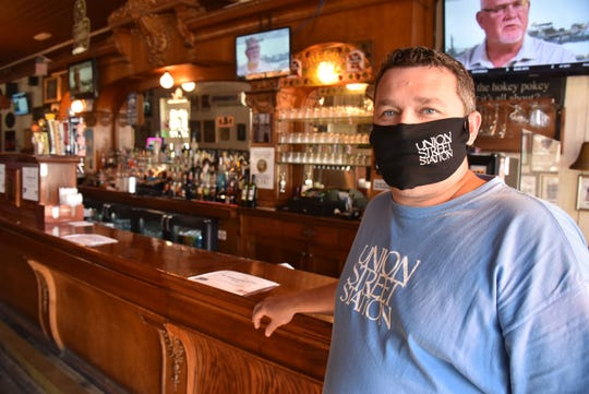 Rick Thompson 39, owner of The Union Street Station in Traverse City, will close his doors on Thursday, July 30, 2020, at midnight until the governor's orders are lifted.