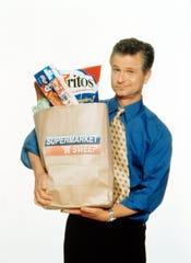 """Supermarket Sweep"" host David Ruprecht."
