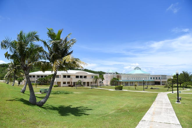 The University of Guam campus in Mangilao, July 31, 2020.