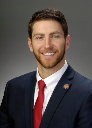 Rep. Riordan McClain, R-Upper Sandusky, represents the 87th Ohio House District.