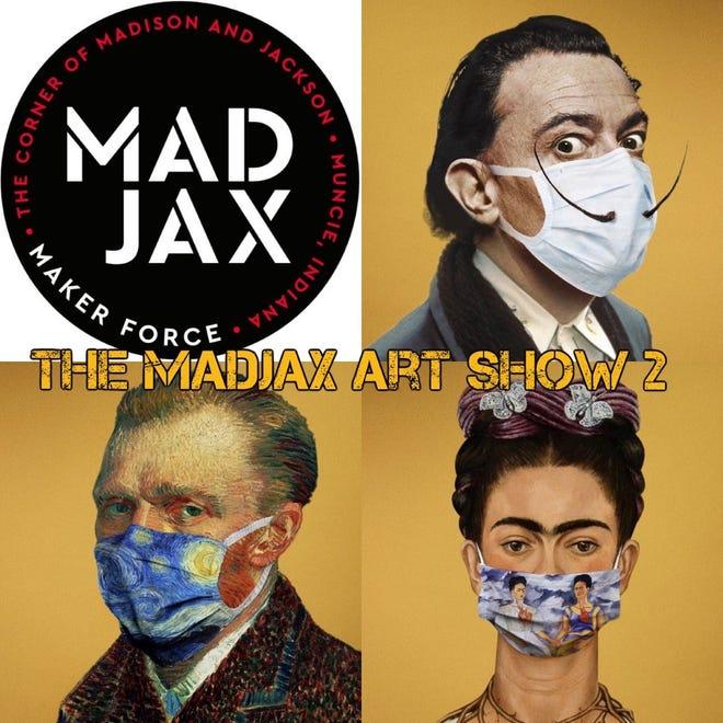 Maxjax Art Show 2 will be 5-8 p.m. Thursday, Aug. 6, 2020, during First Thursday.