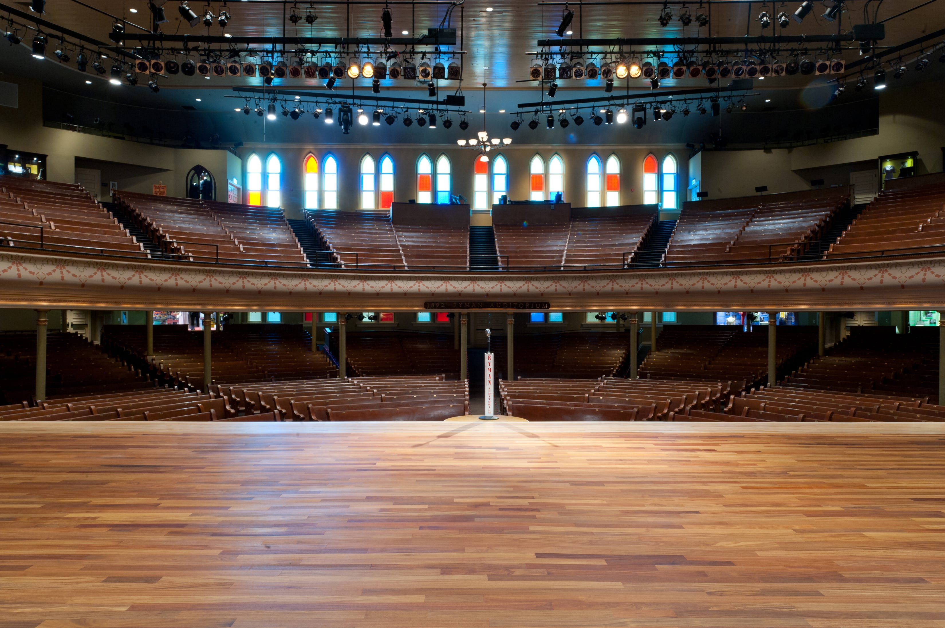 Is the Ryman Auditorium haunted? Find out on this rare tour