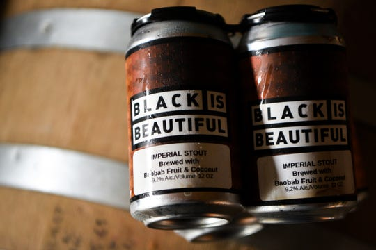 The Black is Beautiful stout from Montclair brewery on Friday July 31, 2020.