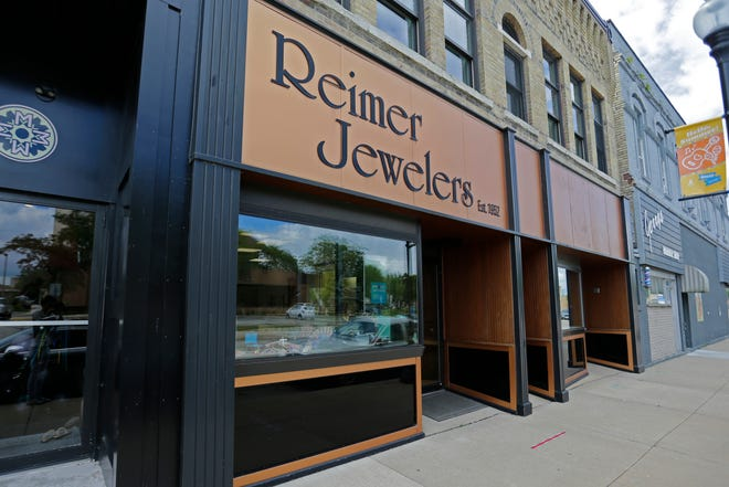 Reimer Jewelers on Thursday, July 30, 2020, in Oshkosh, Wisconsin.
