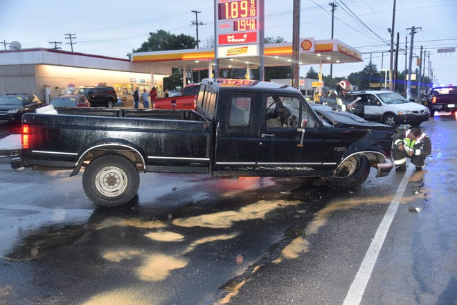 A 2021 Ford pickup was involved in a serious accident Thursday, July 30, 2020, on U.S. 40 at Round Barn Road.