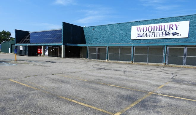 The former Woodbury Outfitters building in the River Run Center will be the home to a new Ollie's Bargain Outlet in the spring after renovations are completed.