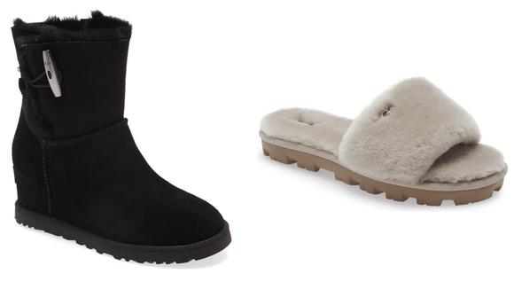 Cozy WFH footwear.