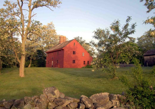 """<a href=""""http://www.rebeccanurse.org/""""><strong>The Rebecca Nurse Homestead</strong></a> &bull; Danvers, Massachusetts &bull; Home of Rebecca Nurse, who was convicted and executed in the Salem Witch Trials."""
