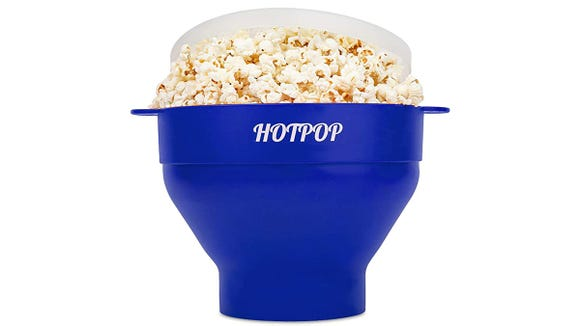 Make movie theater-quality popcorn from the comfort of your home.