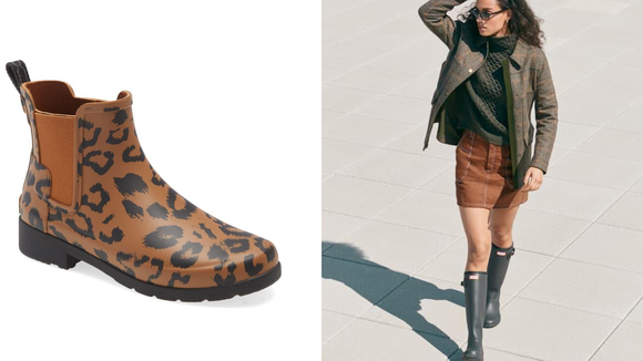 Celebrity Fitness: These rain boots are value it.