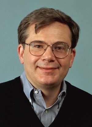 Mike Clark, the former USA TODAY senior film critic, in a photo from 1996.