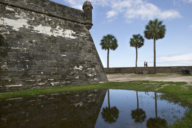 File photo of Castillo de San Marcos in St. Augustine on Tuesday, June 7, 2016. Peter Willott/St. Augustine Record
