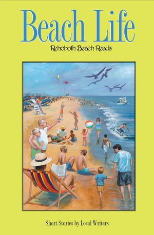 "Cat & Mouse Press' 2017 short stories book, ""Beach Life."""