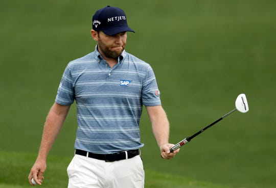 Branden Grace tested positive for the coronavirus Saturday, a double blow to the South African who was one birdie out of the lead at the Barracuda Championship and now can't play next week in the PGA Championship.