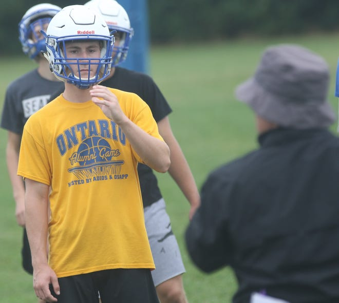 Ontario's Kolten Kurtz and the Warriors learned of their 2020 high school football schedule on Wednesday night.