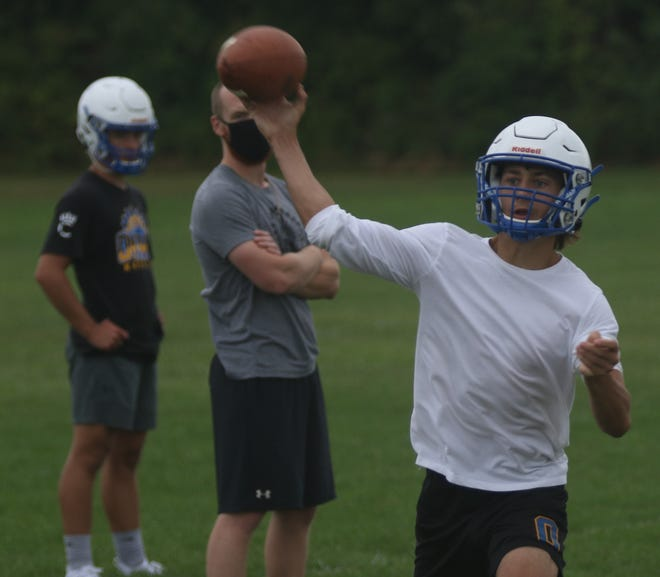 Ontario's Ethan Snyder will be the full-time quarterback for the Warriors in 2020.