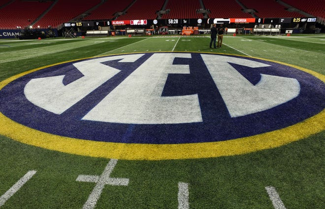 The SEC will move to a 10-game, conference-only football schedule this season.