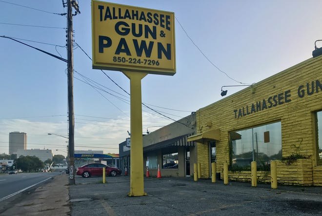 Tallahassee Gun & Pawn, located on South Monroe Street in Tallahassee.