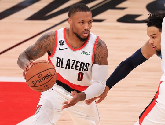 Damian Lillard's positive approach will help carry Portland to the Western Conference's final playoff spot.