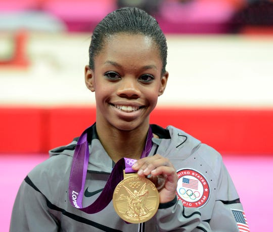 In 2012, Gabrielle Douglas became the first woman of color to win gold in the women's individual all around.
