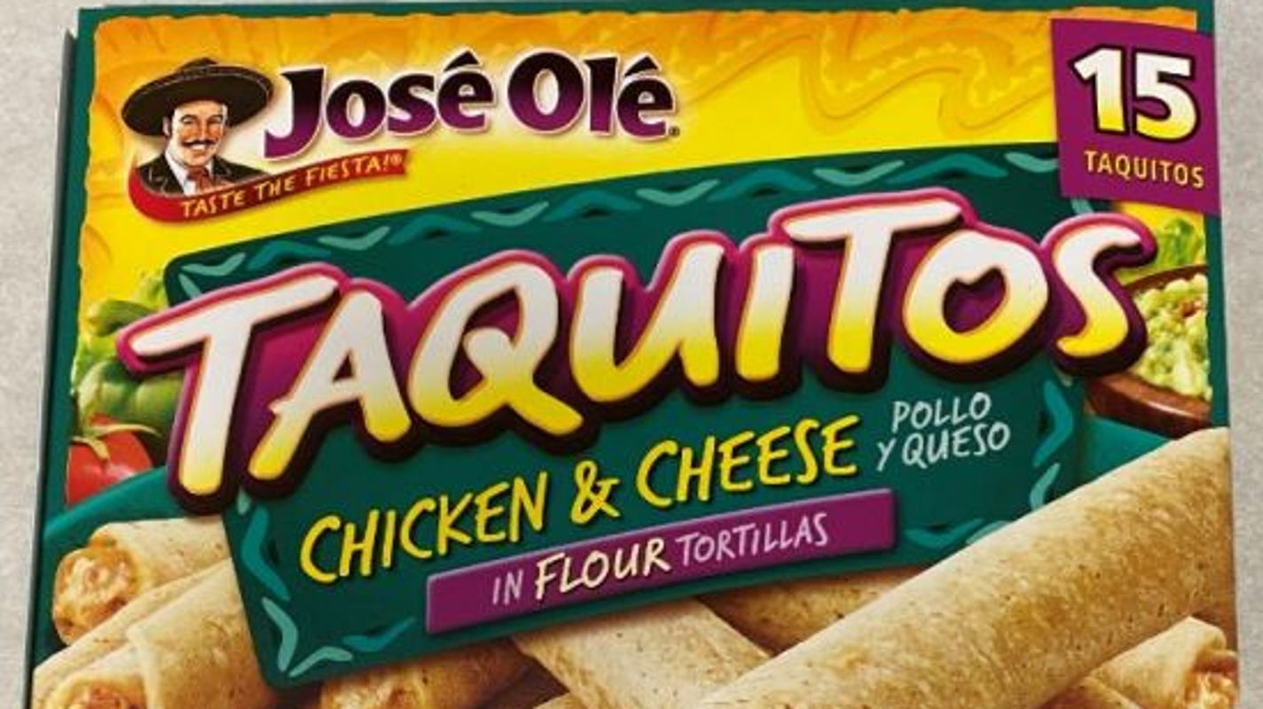 USDA issues health alert for frozen taquitos and chimichangas that may contain plastic posing choking hazard – USA TODAY