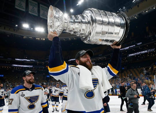 Defenseman Alex Pietrangelo and the St. Louis Blues will be defending their Stanley Cup championship at the Edmonton hub.