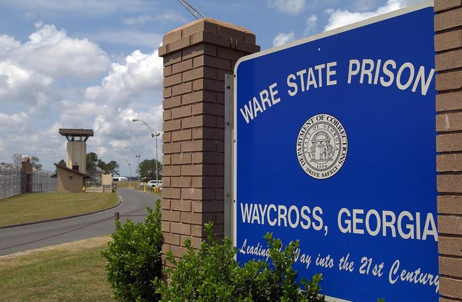 Ware State Prison in Ware County, GA [Chris Viola/Times-Union archive]