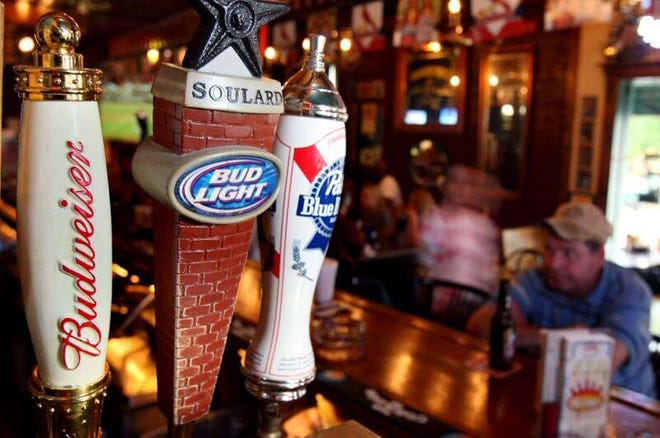 A Liberty Township bar was cited Friday night for violating Gov. Mike DeWine's health order.