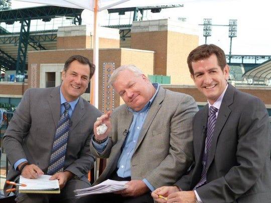 Dan Miller, Bob Wojnowski and Jamie Samuelsen.