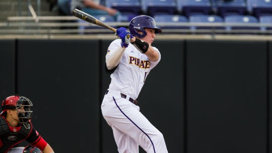 Bryant Packard was a fifth-round draft pick of the Tigers out of East Carolina.