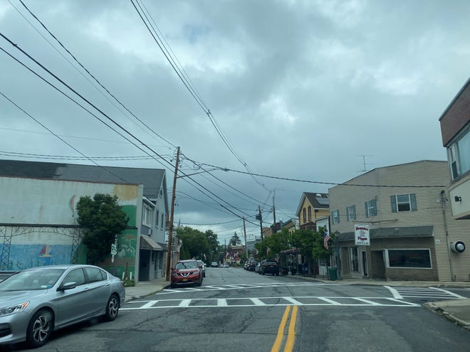 A view of a cloudy day in the hamlet of Highland on Vineyard Avenue as seen on Sunday, Aug. 2, 2020.