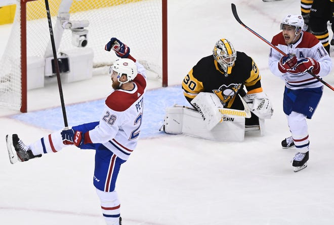 Nhl Qualifying Round Canadiens Get Game 1 Ot Win Vs Penguins