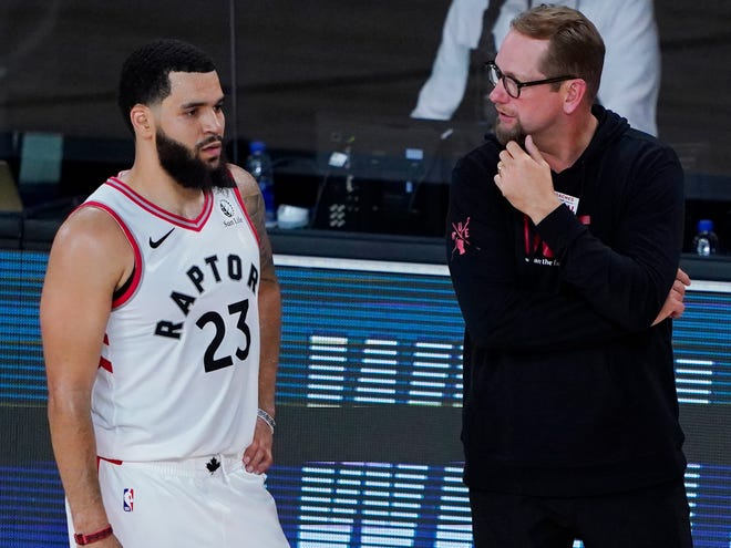NBA: Raptors' Nick Nurse finding new ways to spend free time in bubble
