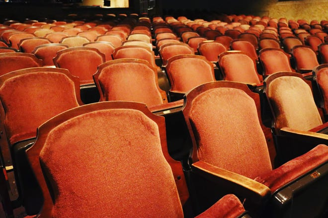 The old seats at the Florida Theatre, which are being replaced, will be sold to raise money for further renovations. The seats are available for $50-$100 each through floridatheatre.com.