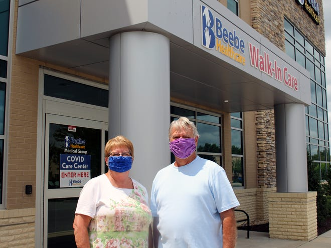 Jim and Barb DeBastiani have recovered from COIVD-19.