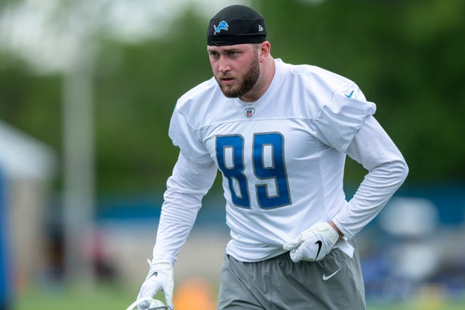 Lions tight end Isaac Nauta was activated from the COVID-19 reserve list on Monday.