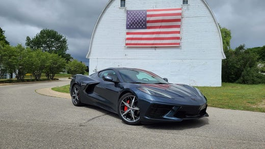 The Made in America supercar. The 2020 Chevy Corvette, assembled in Bowling Green, Kentucky.