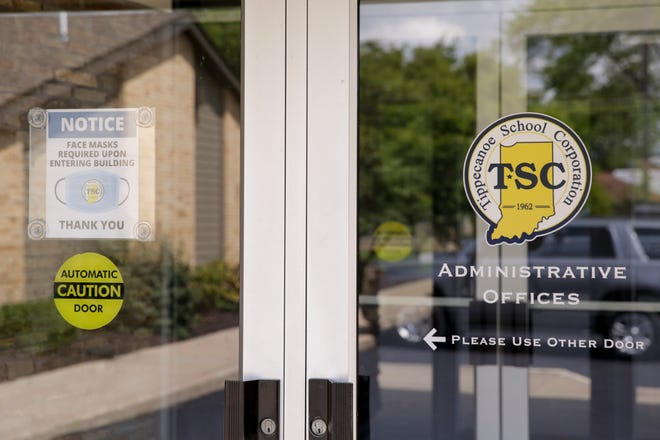 Tippecanoe School Corporation Administration offices, 21 Elston Road, in Lafayette.