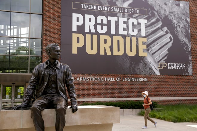 Purdue officials were pleading this week with faculty and staff to avoid 'COVID fatigue' as cases climbed at record clips in Greater Lafayette.
