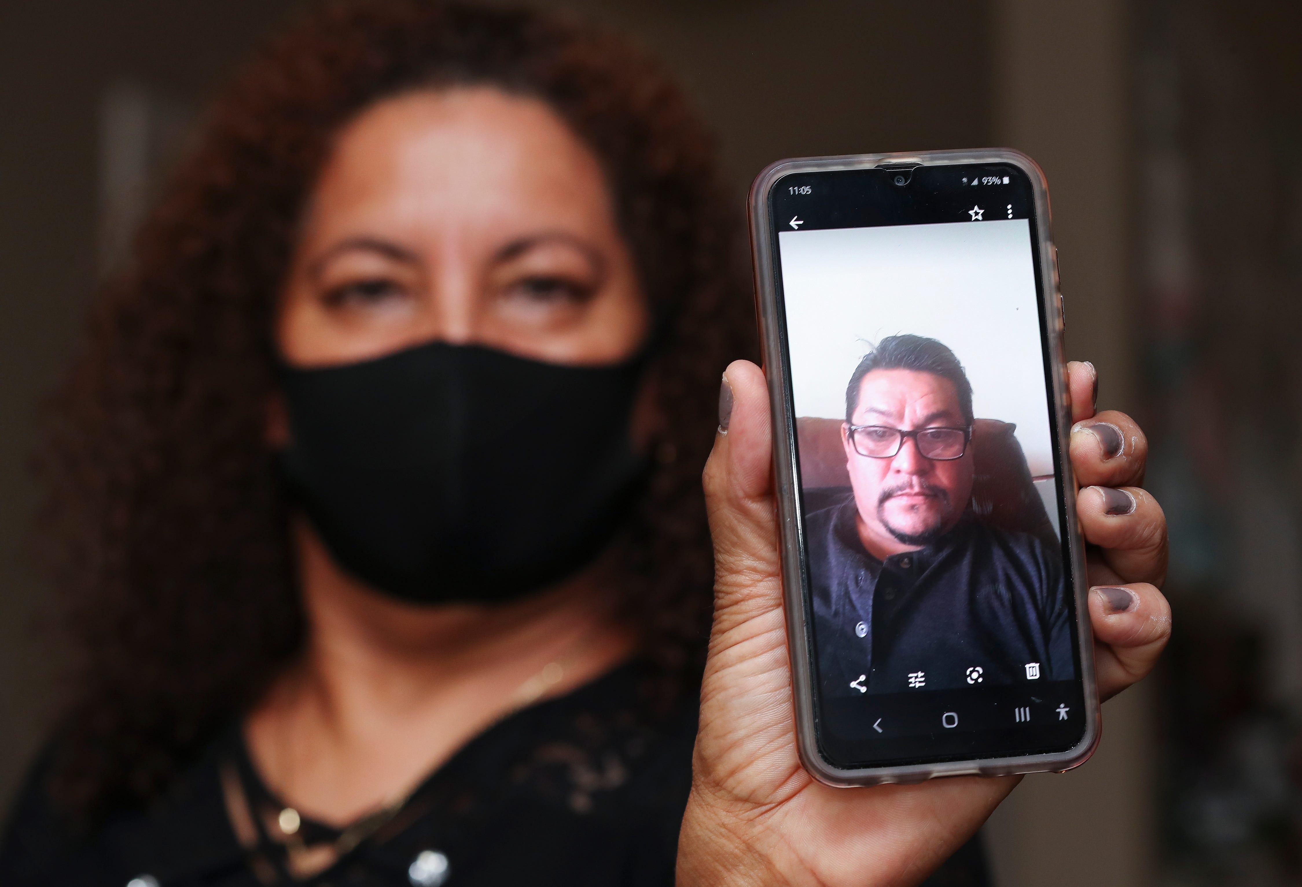 Alvina Baires' partner, Juan Carlos Pat Morales, died from COVID-19 in April.