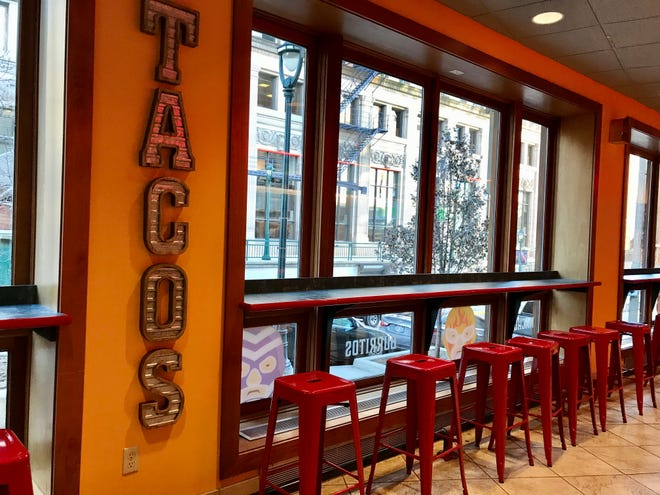The Angry Taco, 753 N. Water St., has closed. It opened in December 2018 in the former Bruegger's Bagels location.